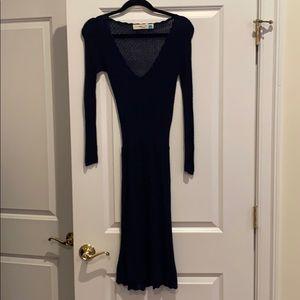 Sparrow knit dress navy